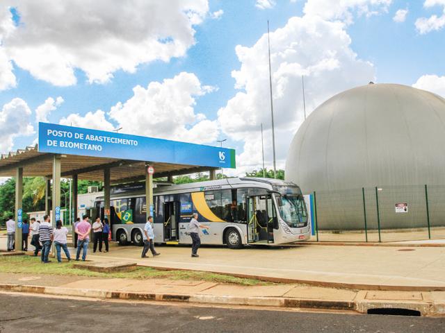 Imagem representativa da notícia: Ônibus Scania é abastecido com biogás do esgoto de Franca